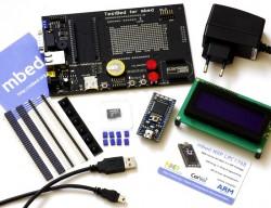mbed NXP LPC1768 - Cortex-M3 Mikrocontroller-Modul mit Web