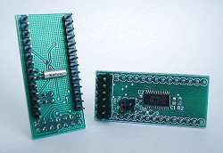 Abb.: MSP430F123 Header Board