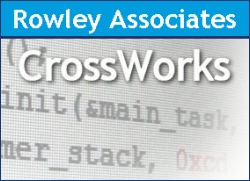 Abb.: CrossWorks by Rowley Associates