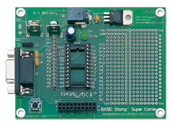 Abb.: BASIC Stamp Super Carrier Board