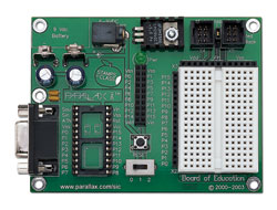 Abb.: Board of Education (RS232-Version)