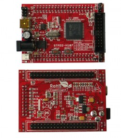 Abb.: STM32-H107 Header Board