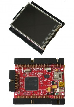 Abb.: STM32-LCD Development Board
