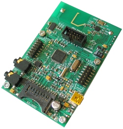 Abb.: STM32-103STK Development Board