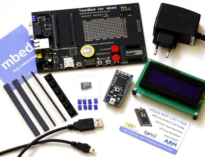 mbed NXP LPC1768 - Cortex-M3 Microcontroller Module with Web